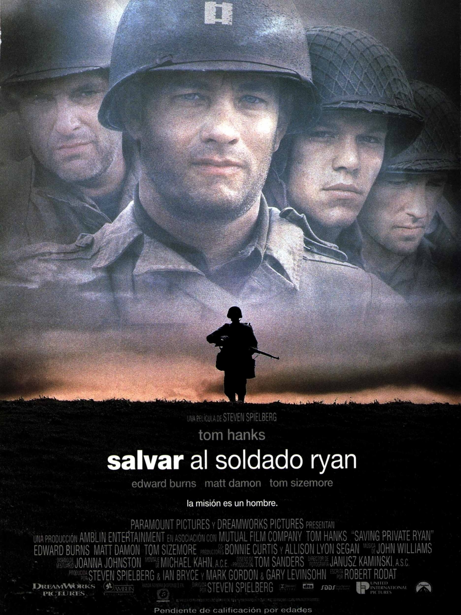 review on saving private ryan Saving private ryan is spieberg and hanks at their best it is a story grounded in the normandy invasion, and loosely based on a factual multi-sibling situation the opening scene places you in one of the landing craft with 2nd battalion army rangers which hits omaha beach, and gives you a peek at the hell that war is.