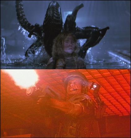 aliens 1986 montage