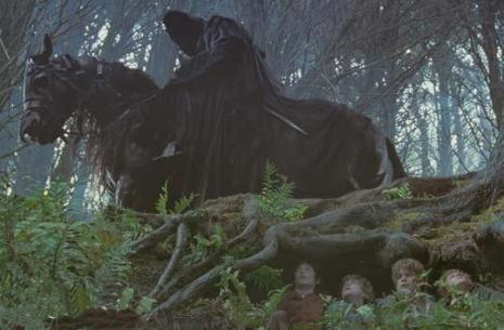 lotr ringwraith get off the road