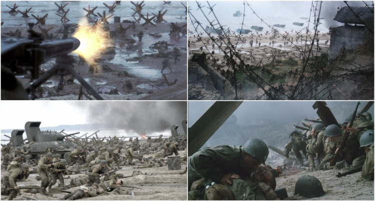 saving private ryan montage
