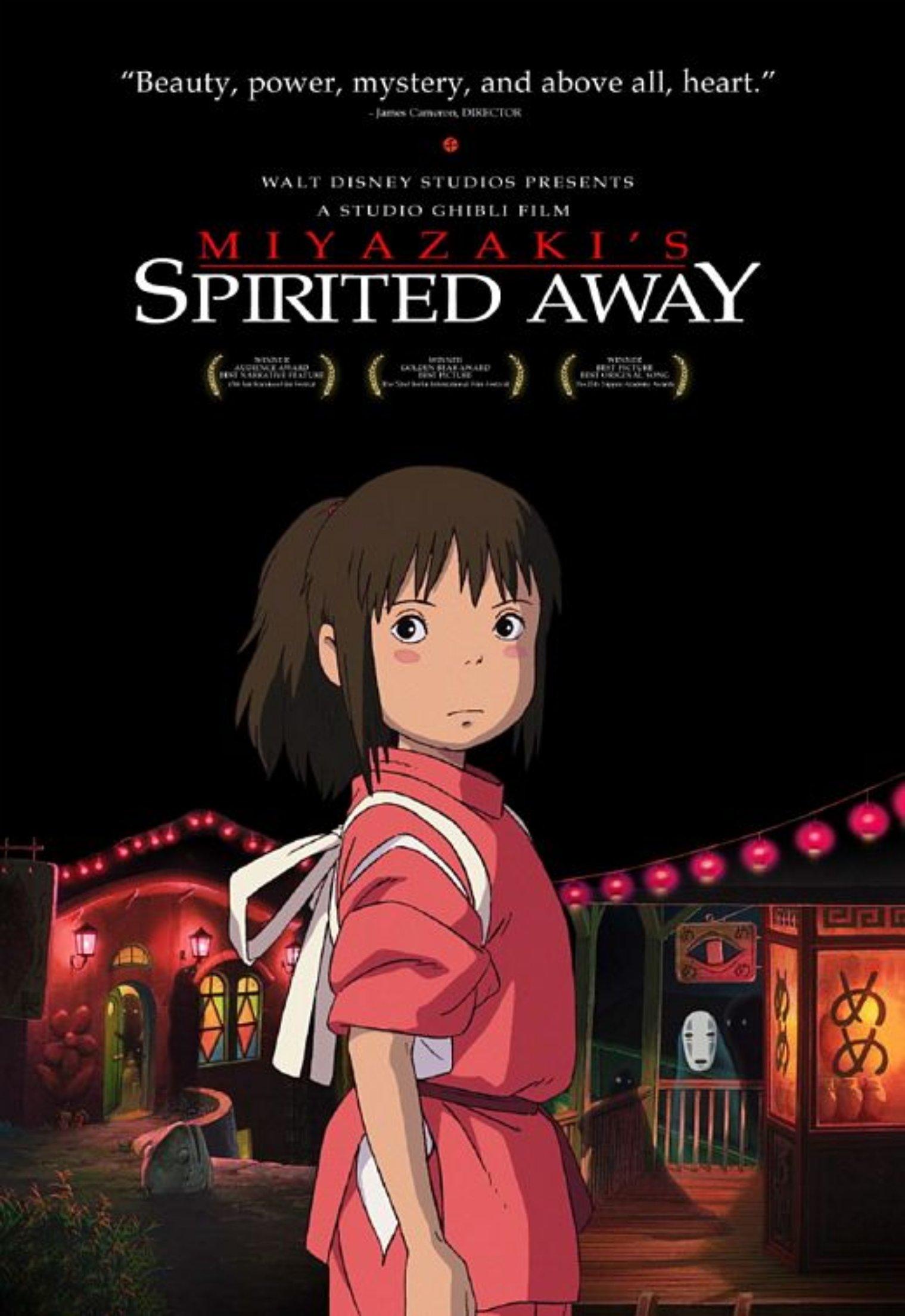 'Spirited Away' (2...