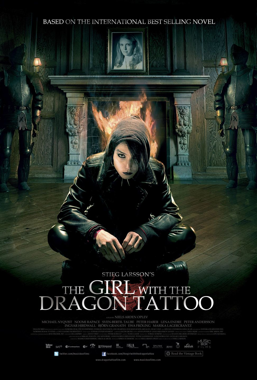 girl with the dragon tattoo Jeff cronenweth, asc and david fincher investigate a compelling mystery for  the girl with the dragon tattoo.