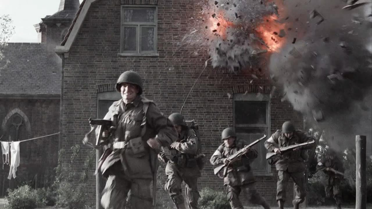 band of brothers film review Detailed plot synopsis reviews of band of brothers in the summer of 1942, young men in army training at camp toccoa, georgia, are given an opportunity to be part of a unique unit of paratroopers this unit offers $50 dollars a month extra for hazardous duty pay, which draws a lot of the volunteers.