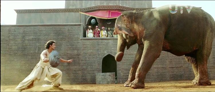 jodhaa akbar elephant