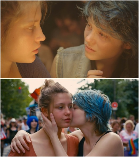 blue is the warmest color montage