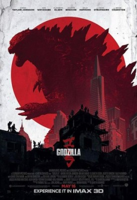 godzilla 2014 alternate poster