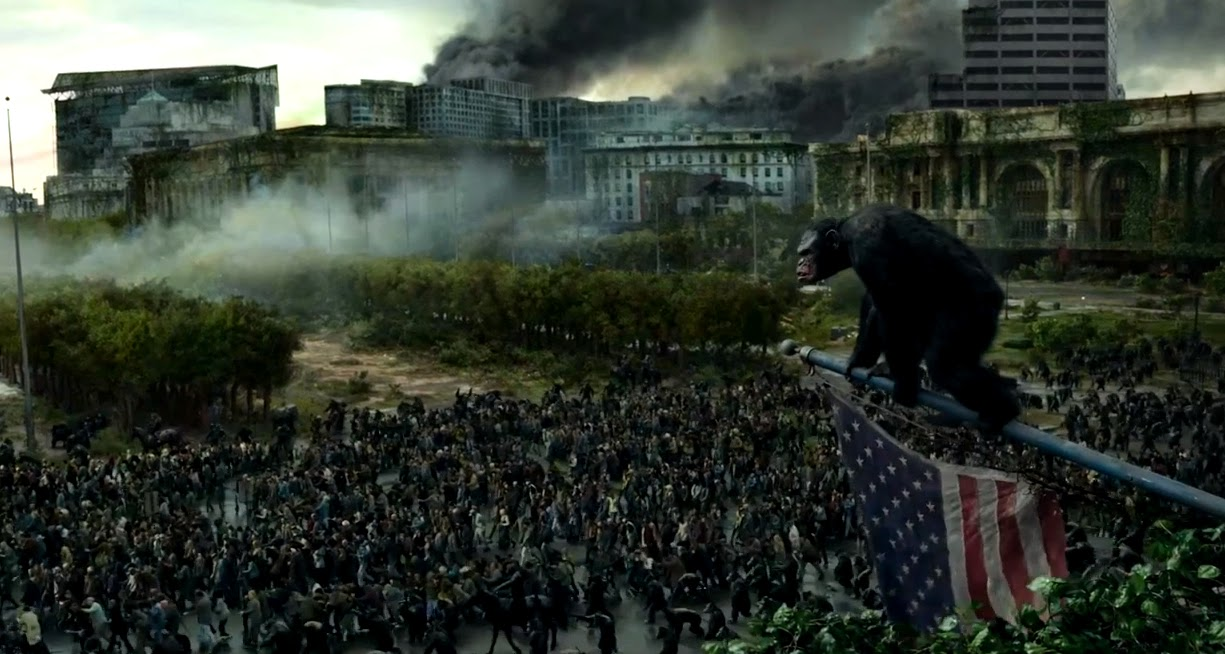 Dawn Of The Planet Of The Apes 2014 The Smartest Blockbuster In Years Express Elevator To Hell