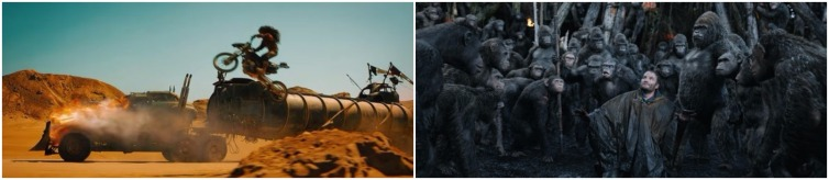mad max fury road dawn of the planet of the apes montage