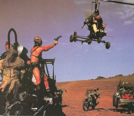 road warrior mad max 2 shoot shoot