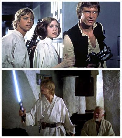 star wars montage