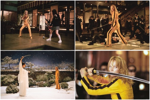 kill bill vol 1 showdown at the house of blue leaves montage