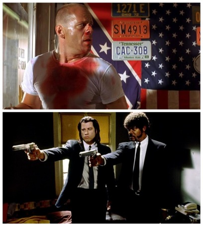pulp fiction montage ii