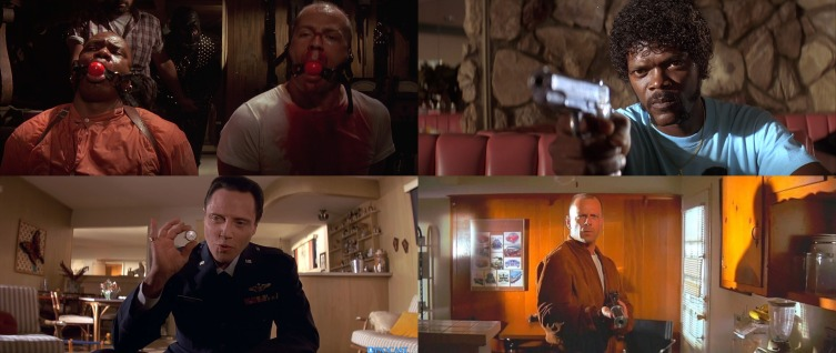 pulp fiction montage