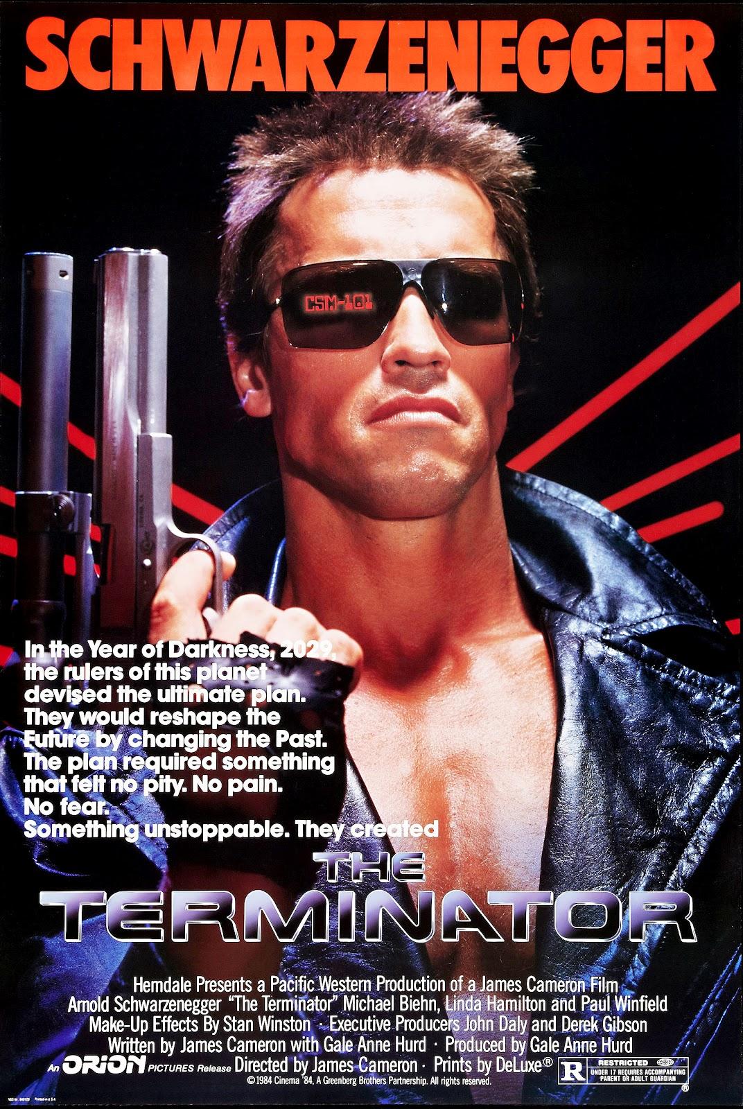 Resultado de imagem para The Terminator 1984