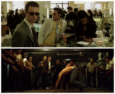 fight club montage