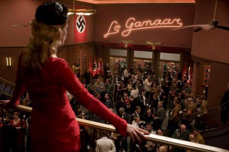 Melanie Laurent stars in Quentin Tarantino's latest film INGLOURIOUS BASTERDS as Shosanna.