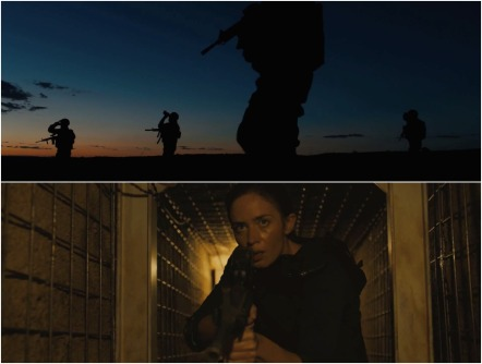 sicario montage v the deeper you go the darker it gets