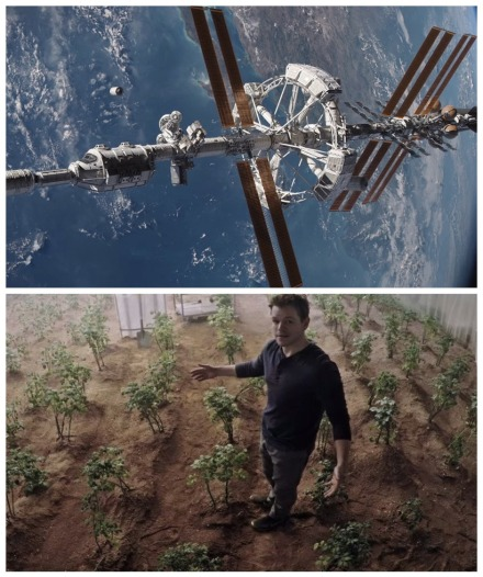 the martian montage