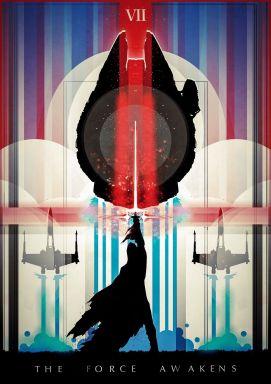 star wars the force awakens fan poster