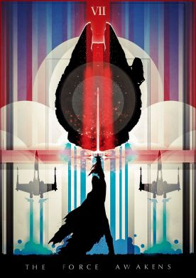 star wars the force awakens fan poster