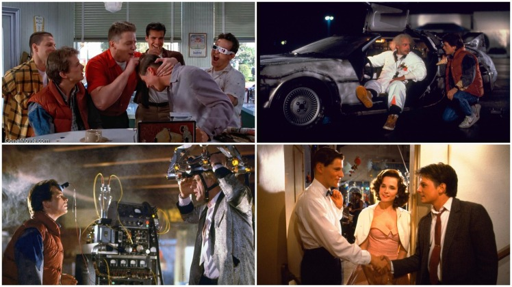 back to the future montage