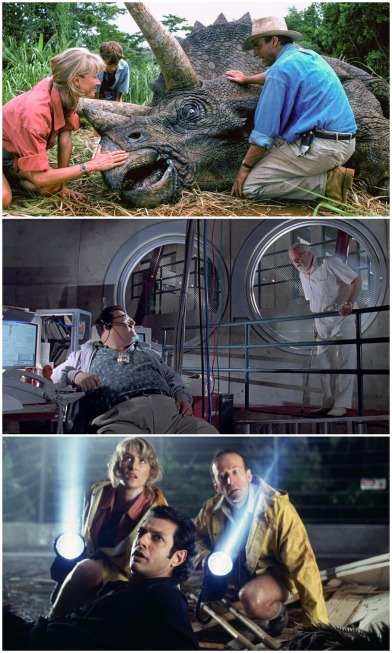 Jurassic Park montage i
