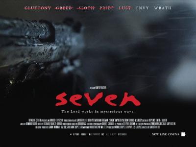 Seven 1995 poster wallpaper by Beyond