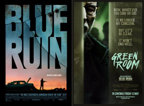 blue ruin green room combo poster