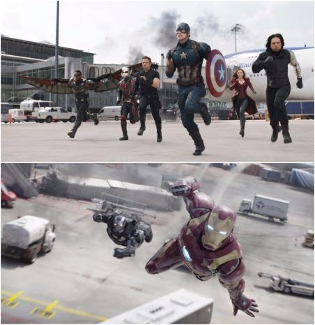 captain america civil war montage