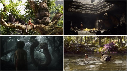 the jungle book montage