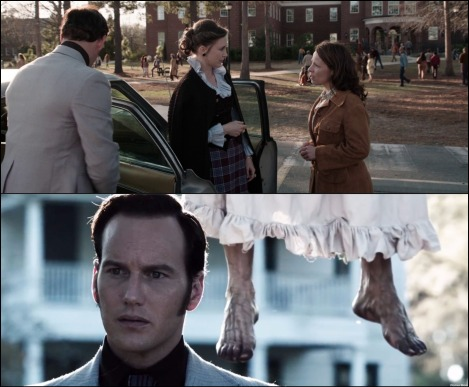the conjuring montage