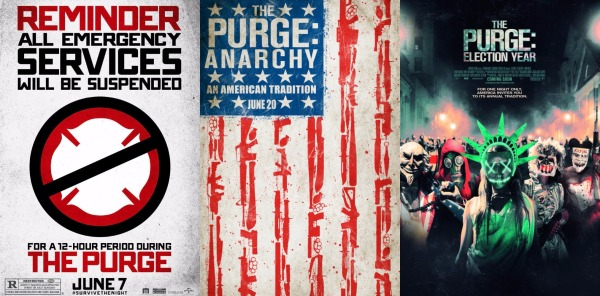 the purge poster montagee