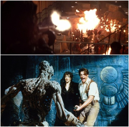 The Mummy 1999 The Mummy Returns 2001 Double Review Express Elevator To Hell