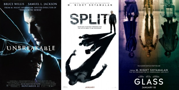 M Night Shyamalan S Unbreakable Trilogy 2000 2016 2019 Express Elevator To Hell