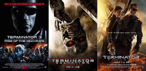 The Forgotten Terminator Movies Rise Of The Machines 2003 Salvation 2009 Genisys 2015 Express Elevator To Hell